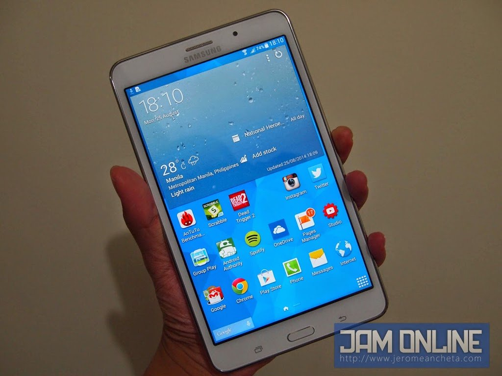 Samsung Galaxy Tab 4 7 0 Review • Jam Online | Philippines