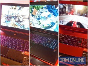 MSI G series laptops