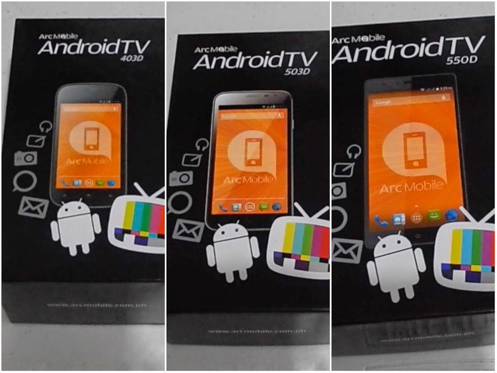 Arc Mobile Android TV 403D, 503D & 550D hands-on and first ...