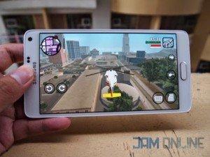 Samsung Galaxy Note 4 gaming
