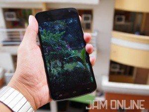 Cherry Mobile Infinix Pure XL display