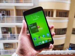 Cherry Mobile Infinix Pure XL front