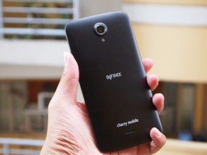 Cherry Mobile Infinix Pure XL back