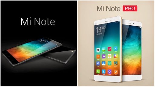 Xiaomi Mi Note And Mi Note Pro Announced! • Jam Online