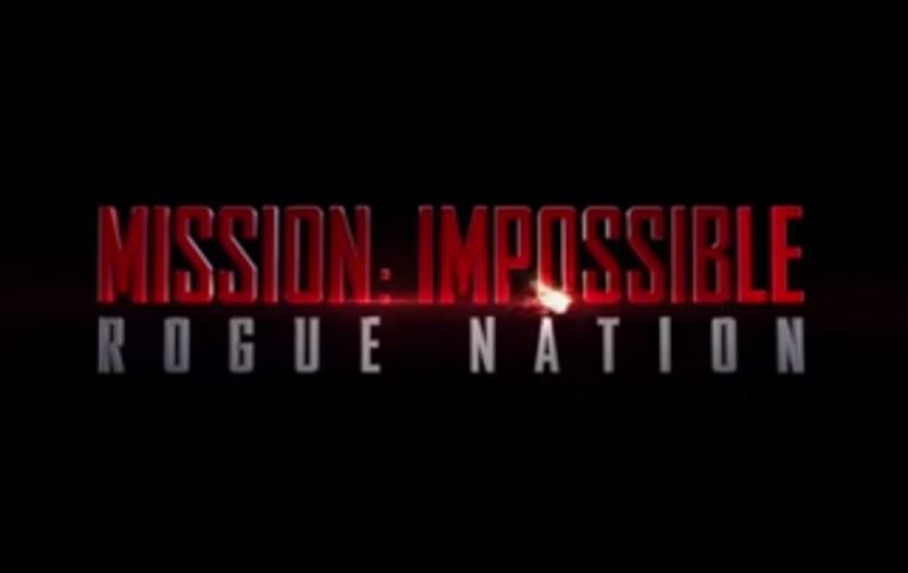 Mission Impossible: Rouge Nation Trailer is here!