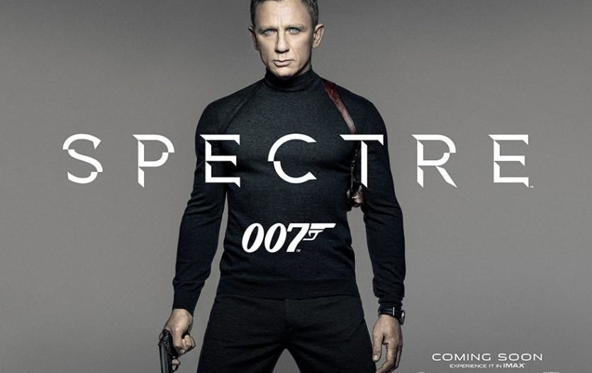 Spectre Teaser Poster shows James Bond in classic spy look