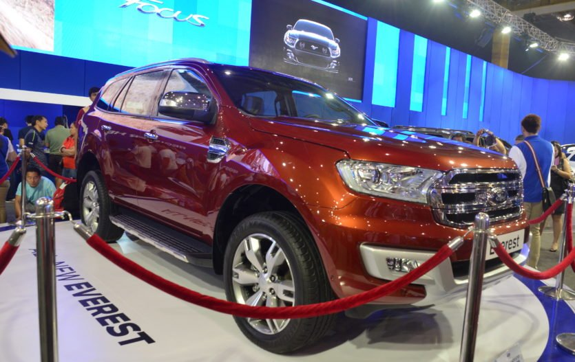 All-New Ford Everest at MIAS 2015