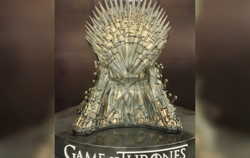 Game Of Thrones is back and we got an Iron Throne Replica in Manila!