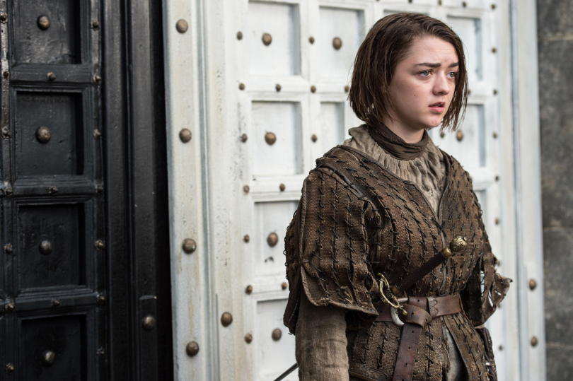 Maisie-Williams-as-Arya-Stark-_-photo-Macall-B.-Polay_HBO-810x539