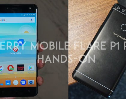Cherry Mobile Flare P1 Plus Hands-On