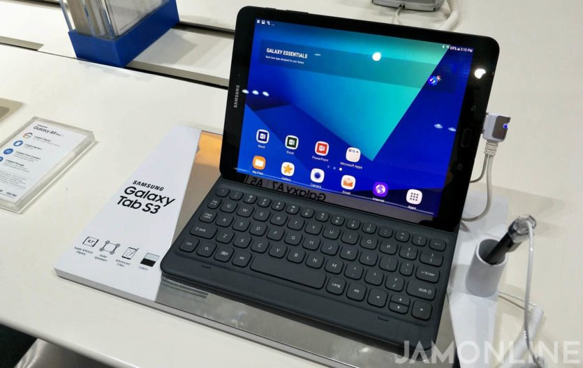 Samsung Galaxy Tab S3 LTE spotted in the wild, now available for P37,990