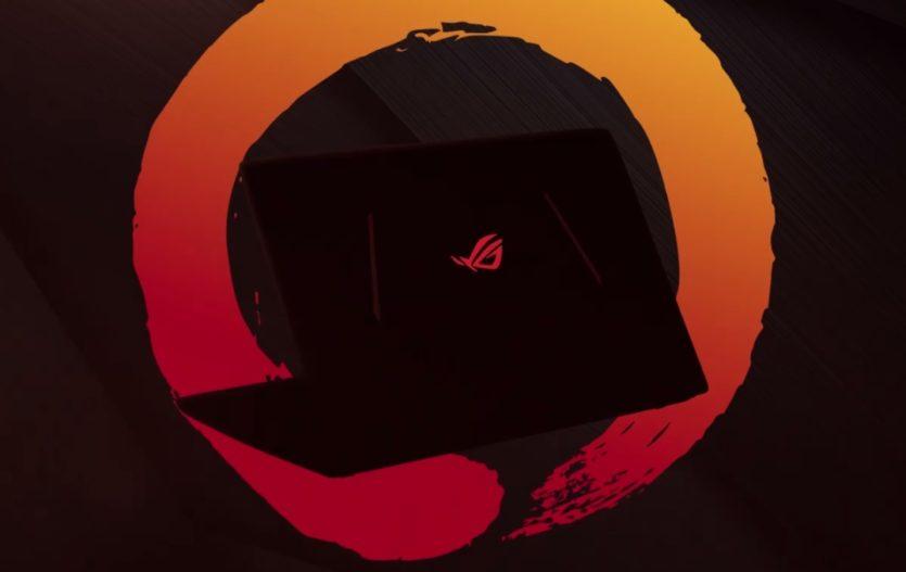 ASUS teases ROG laptop running on AMD Ryzen