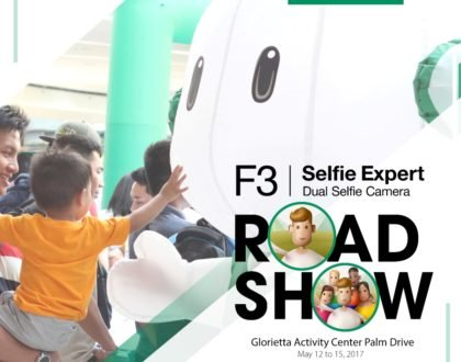 Experience the OPPO F3 in their Road Show!