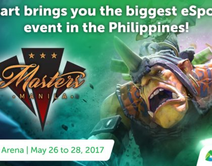 The best DOTA 2 teams in the world competes at Manila Masters 2017