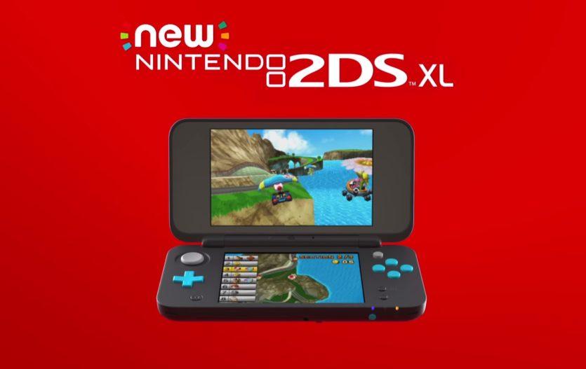 Nintendo 2DS XL Unveiled