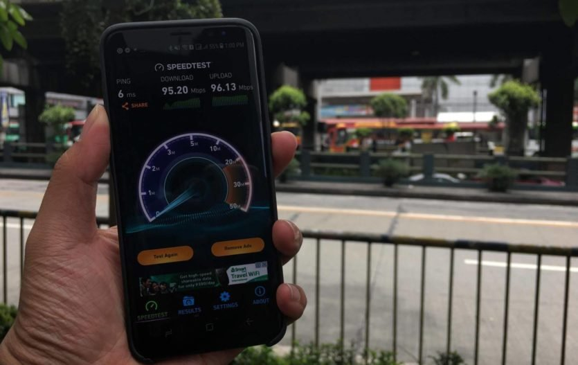 Experience Ultra-Fast Wifi in EDSA with Smart!
