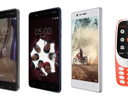 Nokia 3, Nokia 5, Nokia 6, & Nokia 3310 Launches in the Philippines