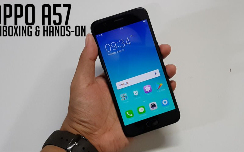 OPPO A57 Unboxing and Hands-On Video