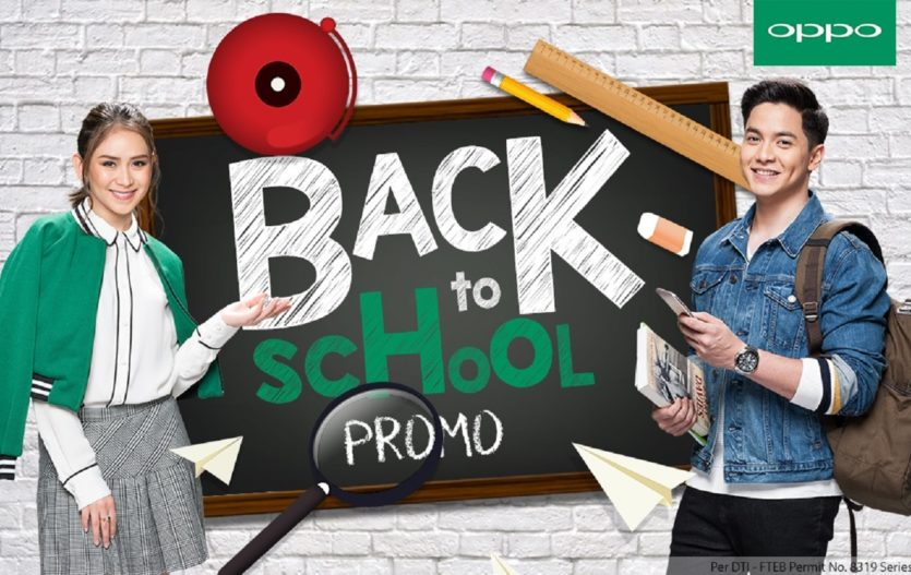 Avail a P1,000 discount for OPPO F3 with OPPO's Back to School Season Promo