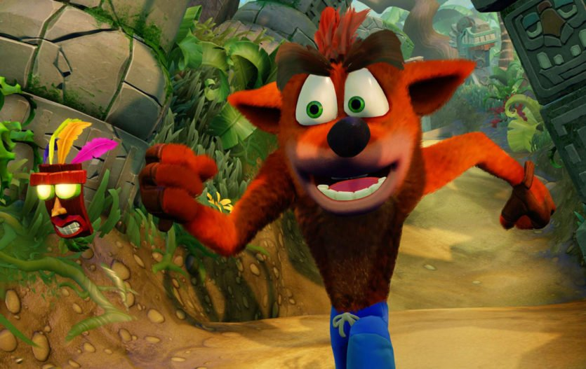 Crash Bandicoot N. Sane Trilogy Now Available on the PS4!