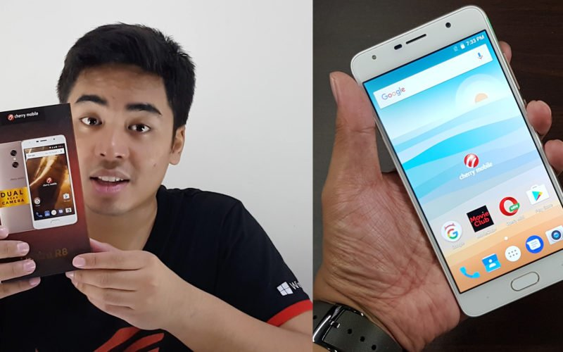 Cherry Mobile Desire R8 Unboxing and Hands-on Video