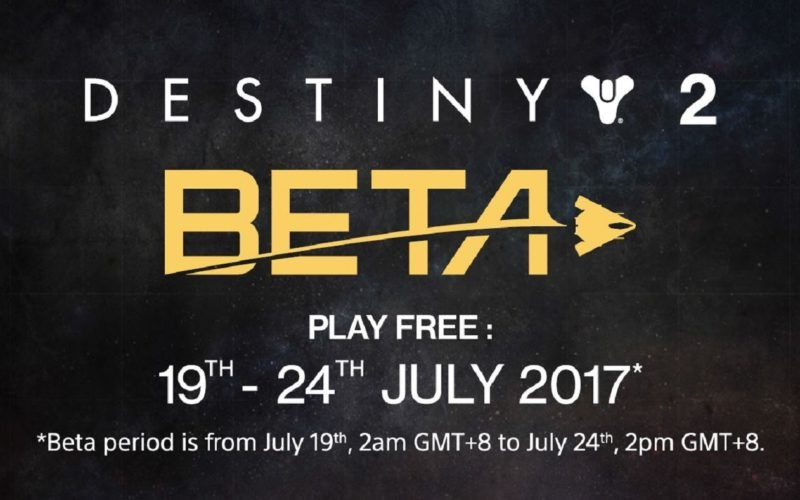 Destiny 2 Open Beta now available for download!