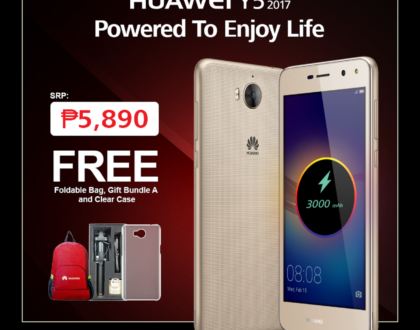 Huawei Y5 2017 Available tomorrow at Lazada