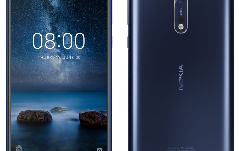 Nokia 8 leaked image reveals Dual Lens Camera with Carl Zeiss Optics