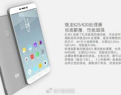 Xiaomi Redmi 5 leaks out!