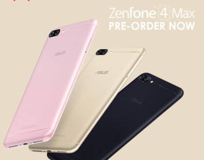 ASUS Zenfone 4 Max now up for pre-order at Widget City
