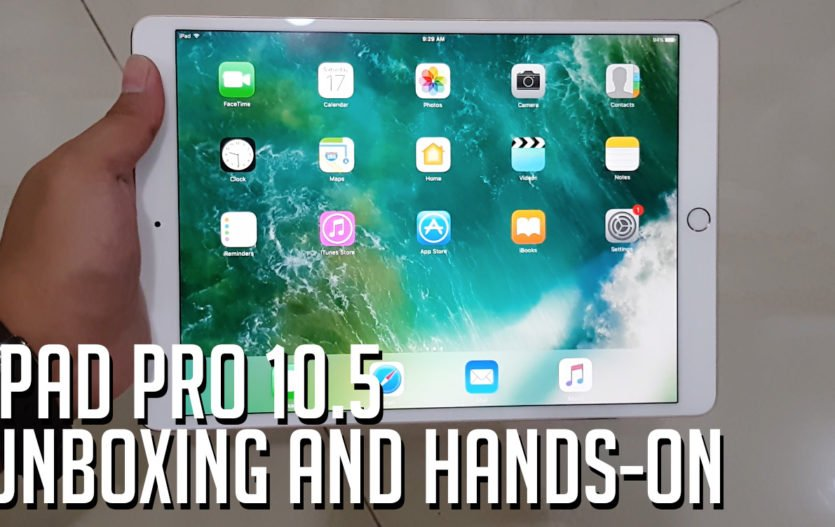 iPad Pro 10.5 Unboxing and Hands-On