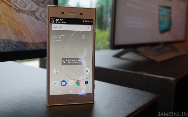 Sony launches the Xperia XZ1 in the Philippines