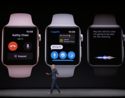 Apple unveils the  Watch Series 3