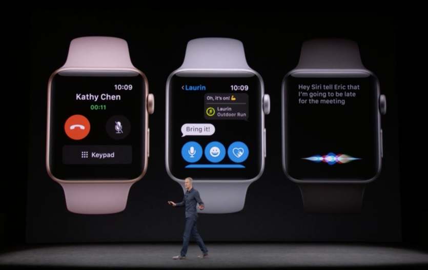 Apple unveils the  Watch Series 3
