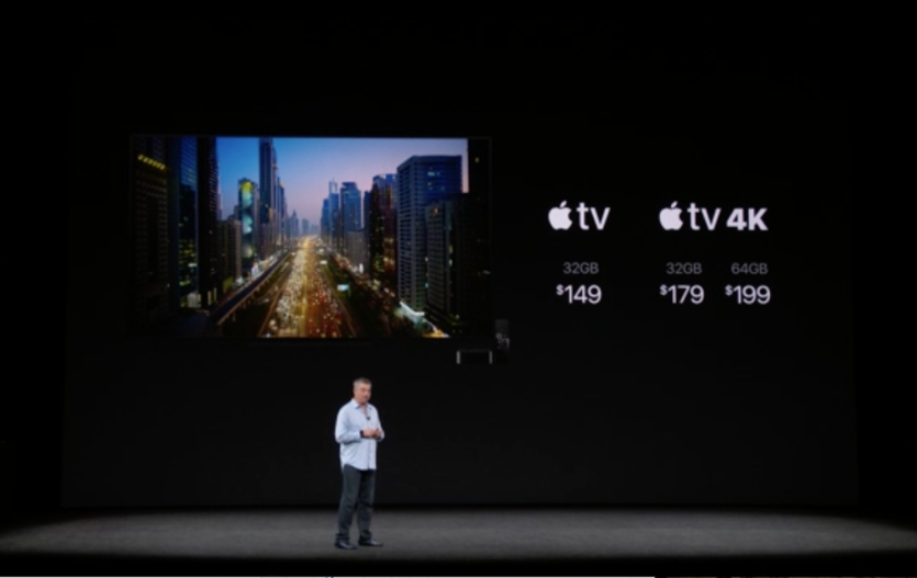 Apple TV 4k Unveiled: A10X Processor and support for 4K HDR