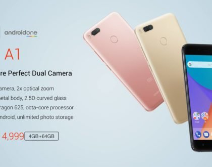 Xiaomi Mi A1 Now Official: Android One smartphone with Snapdragon 625 chipset and Dual Camera