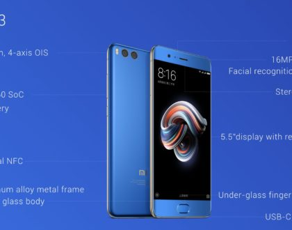 Xiaomi Mi Note 3 Unveiled: It's a bigger Mi 6 with different hardware
