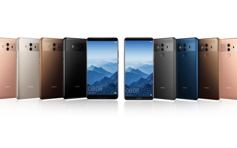 Huawei unveils the Mate 10 & Mate 10 Pro