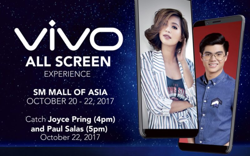 Experience the Vivo V7+ at the Vivo All Screen Experience SM Mall Tour