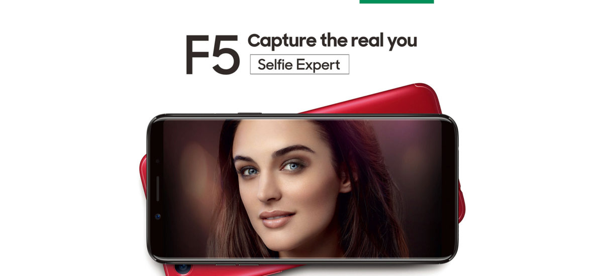 OPPO F5 to Feature A.I. Beauty Technology & 18:9 FHD+ Display
