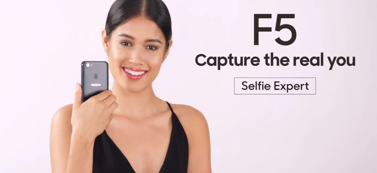 OPPO F5 Seen in ABS-CBN's Newest Video