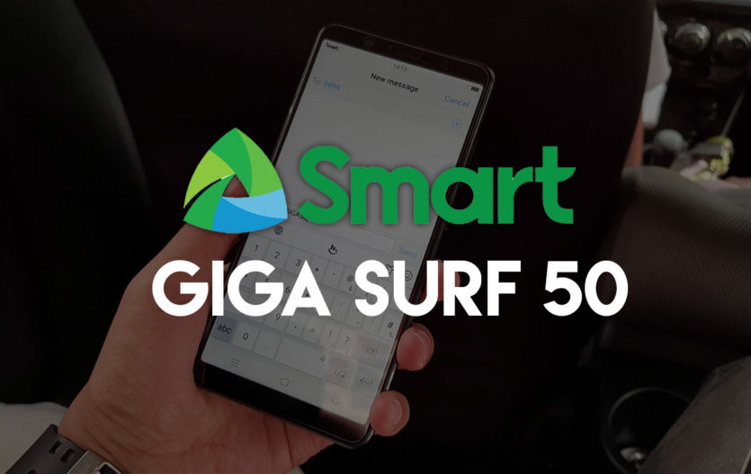 Smart Beefs up Giga Surf 50 with Unli All-Net Texts