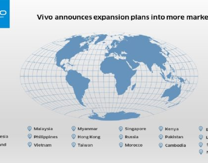 Vivo Expands into More Global Markets