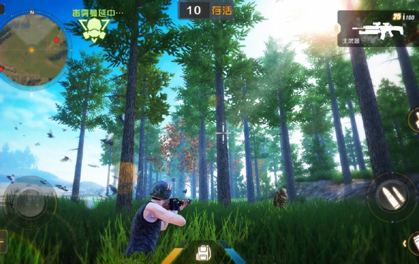 Law of the Jungle: Another Battle Royale game for Smartphones
