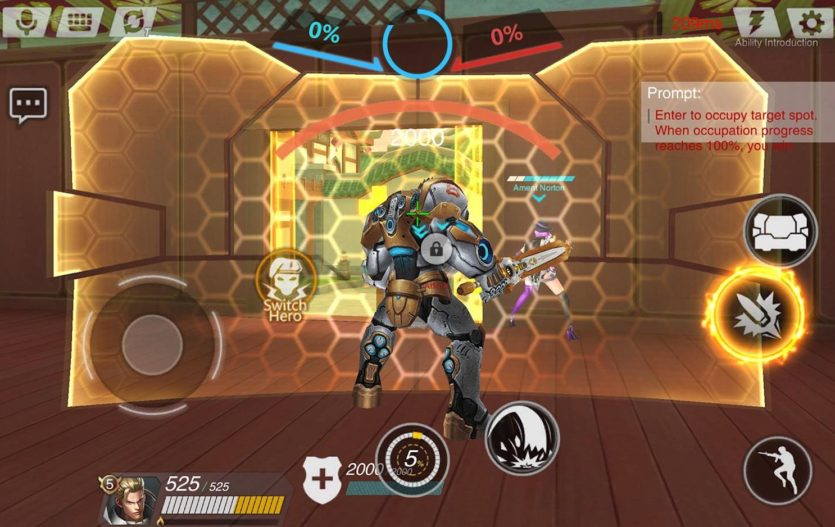 Heroes of Warfare: Overwatch Rip Off for Smartphones and Tablets