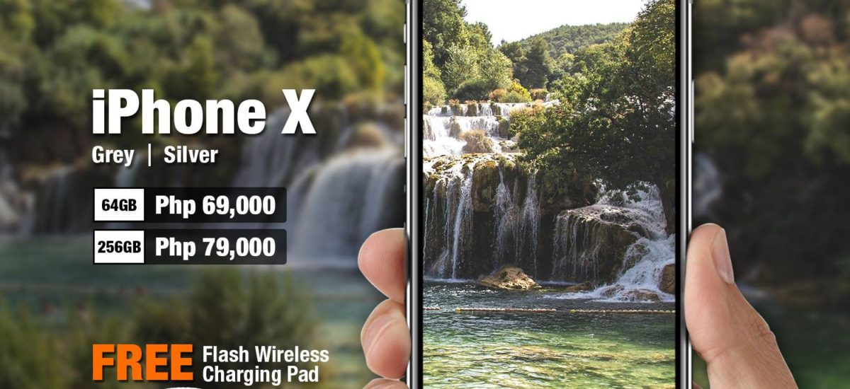 iPhone X Now Available at Kimstore for Php69,000