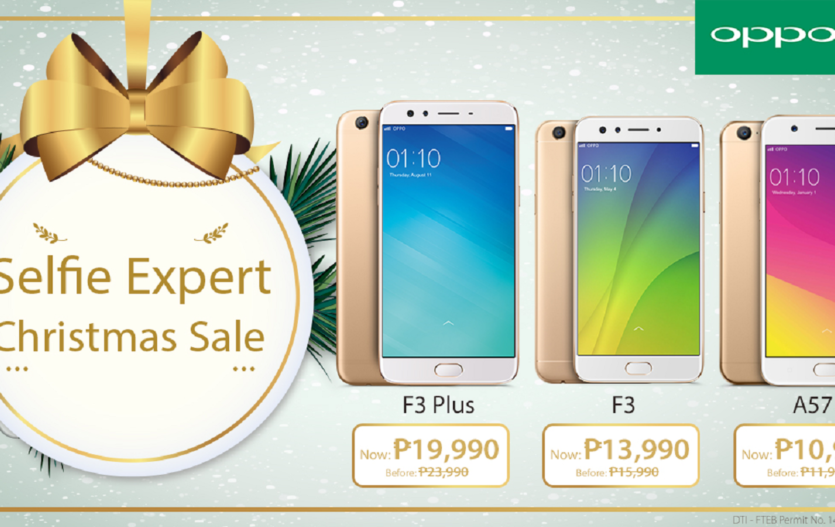 OPPO F3 Plus, F3, & A57 Gets a Price Drop