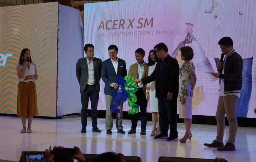 Acer Philippines launches Holiday Promo with SM Store