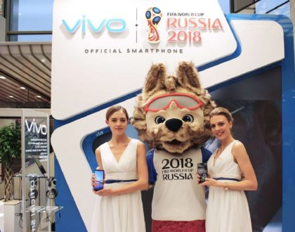 Vivo Unveils Special Edition Edition Smartphone for 2018 FIFA World Cup Russia