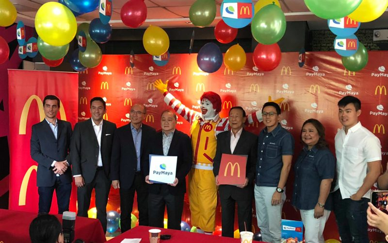 McDonald's Philippines Now Accepts Cashless transactions with PayMaya